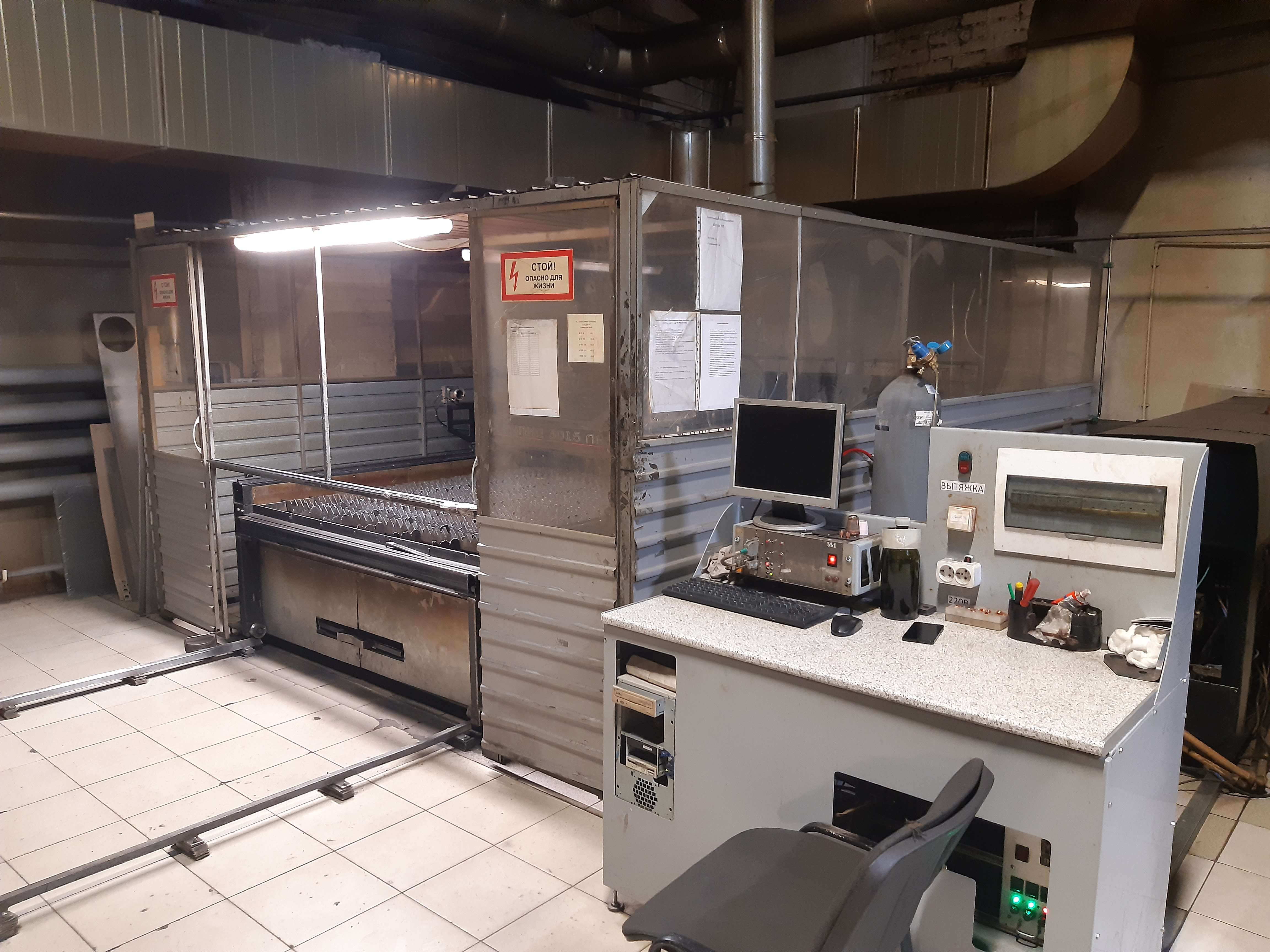 Laser Cutting Machine TechnoLaser TL-1000 photo on Industry-Pilot