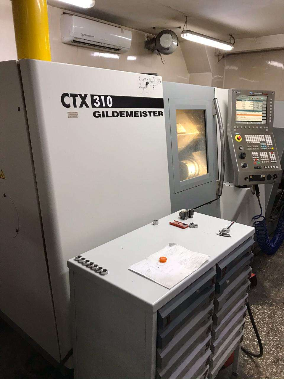 CNC Turning Machine GILDEMEISTER CTX 310 V6 photo on Industry-Pilot