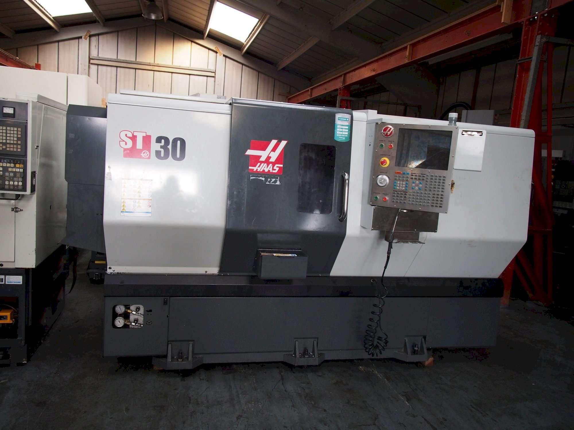 CNC Drehmaschine HAAS ST-30 Bilder auf Industry-Pilot