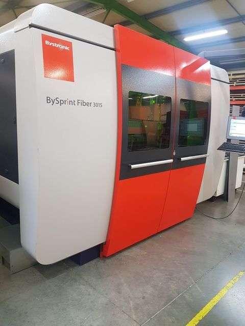 Laserschneidmaschine Bystronic BySprint 3015 Fiber 4kW  Bilder auf Industry-Pilot