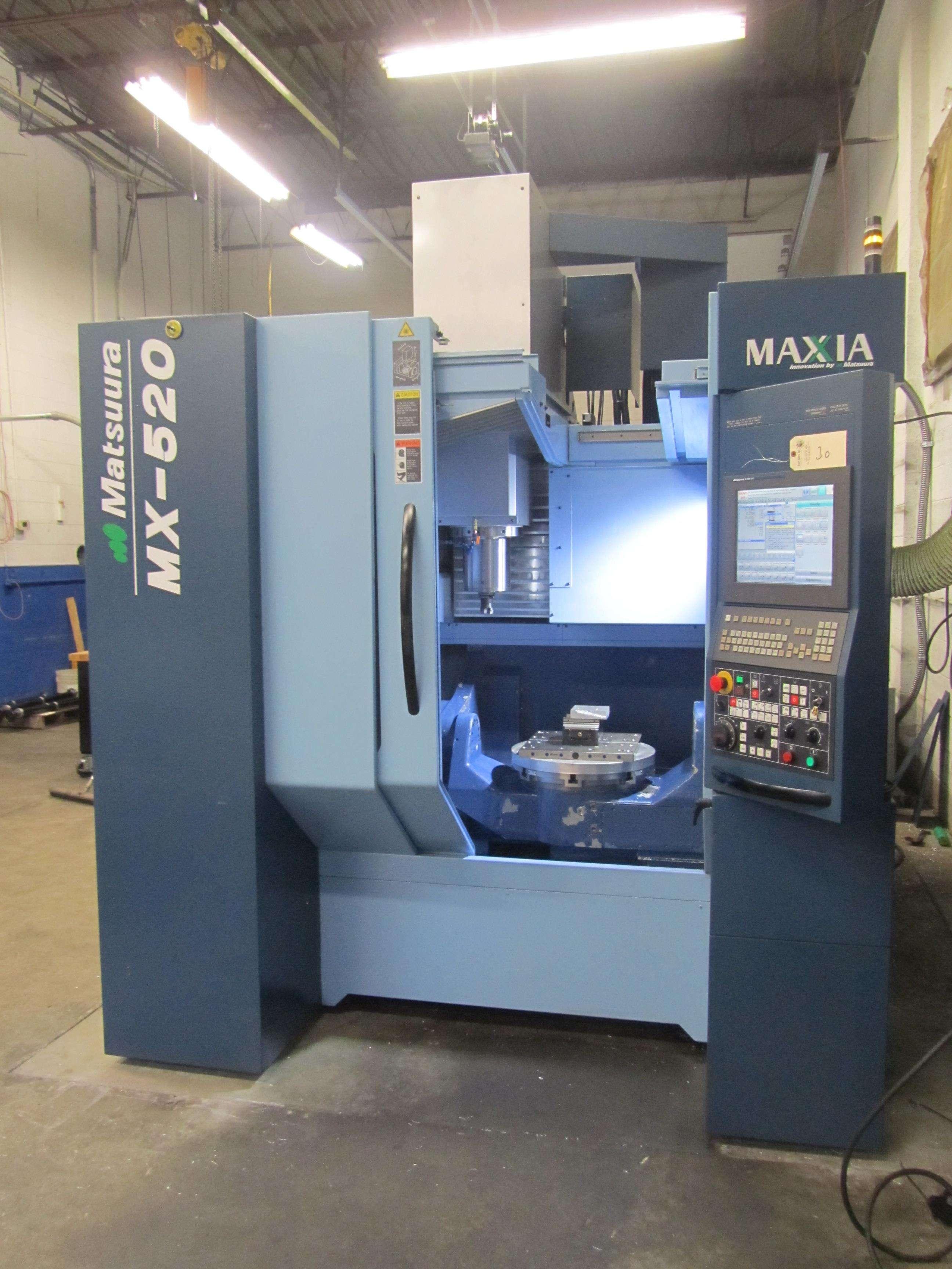 Bearbeitungszentrum - Vertikal MATSUURA MX-520 5-ACHS-CNC-VERTIKALES BEARBEITUNGSZENTRUM Bilder auf Industry-Pilot
