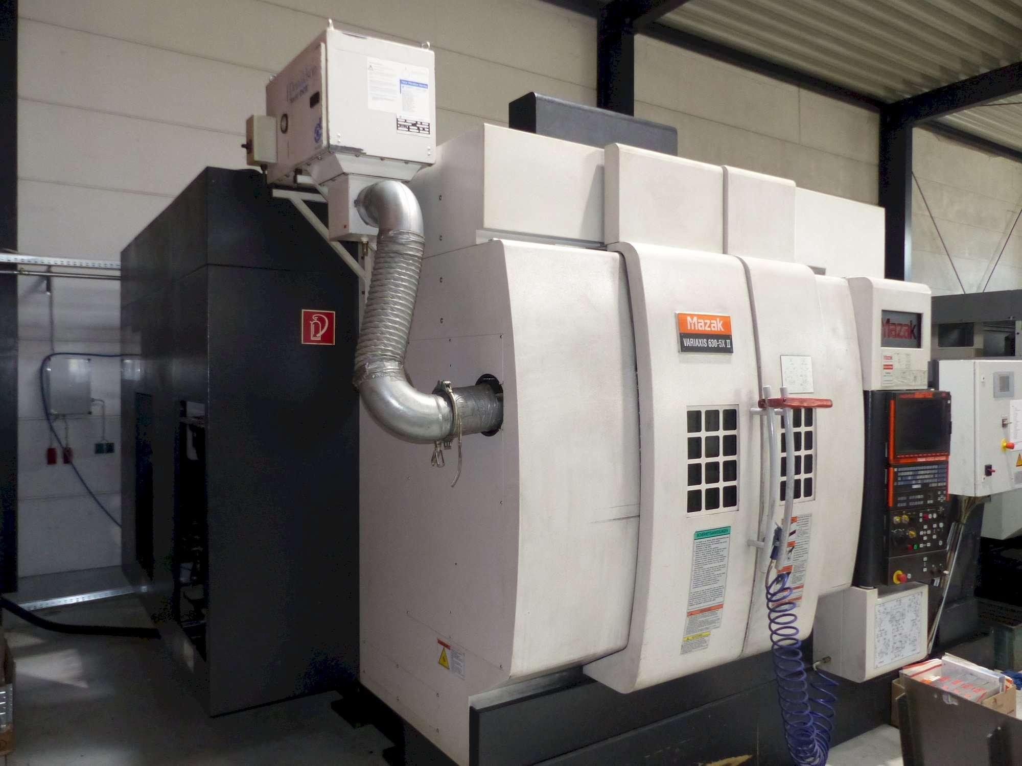 Bearbeitungszentrum - Universal Mazak Variaxis 630-5x II Bilder auf Industry-Pilot