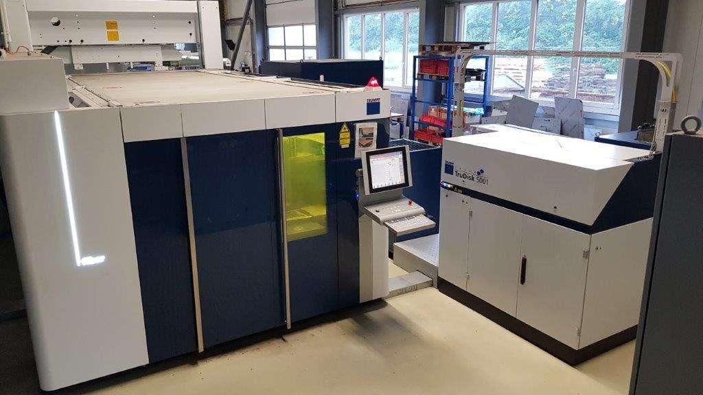 Laserschneidmaschine Trumpf TruLaser 5030 L56 fiber 5kW  Bilder auf Industry-Pilot