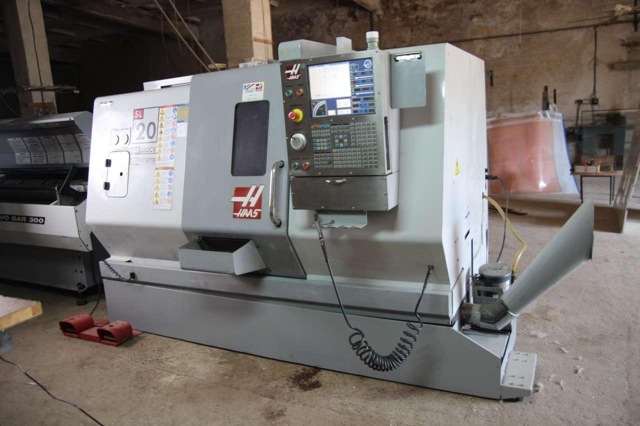 CNC Drehmaschine Haas SL 20 Bilder auf Industry-Pilot