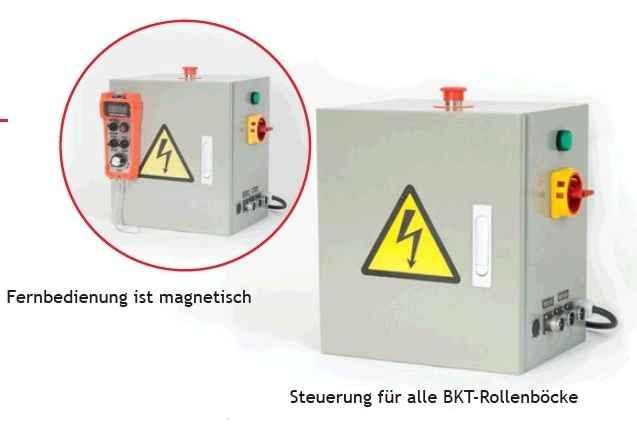 Behälterdrehvorrichtung A+B BKT-5 Bilder auf Industry-Pilot