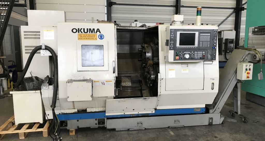 Center Lathe Okuma LU 15 M Big Bore photo on Industry-Pilot