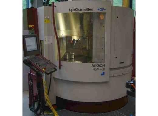 Bearbeitungszentrum - Vertikal Mikron HSM 400 Bilder auf Industry-Pilot