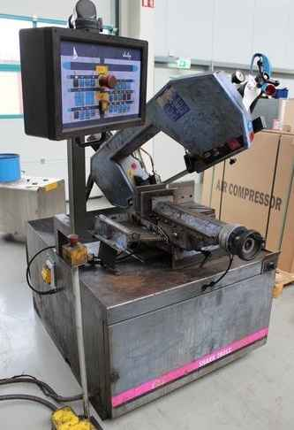 Bandsaw metal working machine MEP - Halbautomat SHARK 280 SX Duty photo on Industry-Pilot