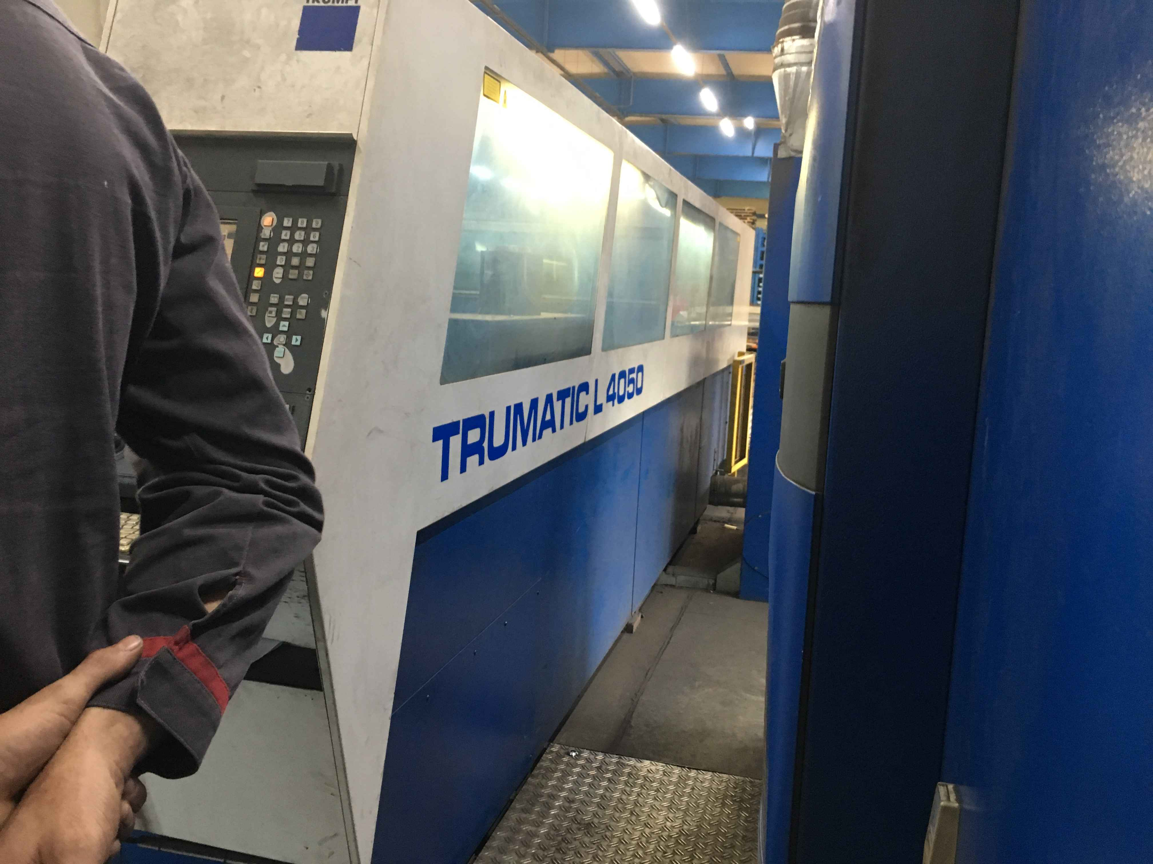 Laser Cutting Machine TRUMPF L 4050 - 6 kW  photo on Industry-Pilot