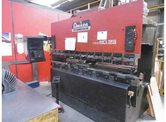 Abkantpresse - hydraulisch AMADA ITS2 80-25  Bilder auf Industry-Pilot