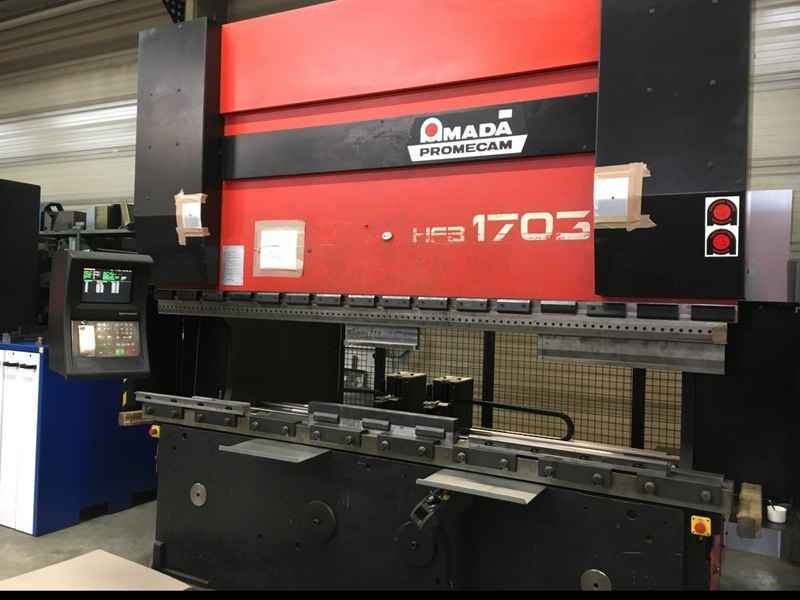 Press Brake Hydraulic Amada Hfb O 170 3l Used Buy P0040866