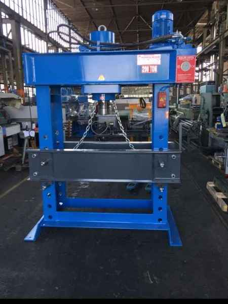 Tryout Press - hydraulic HIDROLIKSAN HD 200 фото на Industry-Pilot
