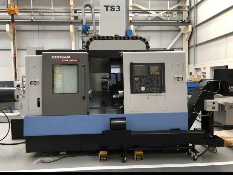 CNC Turning and Milling Machine DOOSAN PUMA PUMA 2000 SY фото на Industry-Pilot